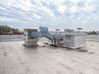 How do you maintain a commercial roof?