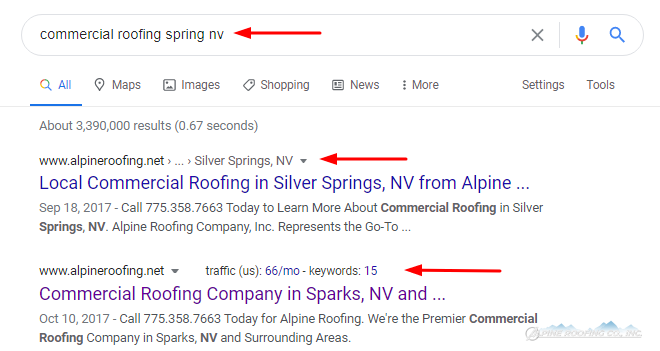 How We Used Roofing SEO to Rank for Local Keywords 1